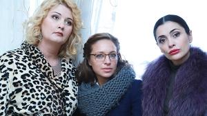 Александра СКАЧКОВА (Элла), Сирафима НИЗОВСКАЯ (Надежда), Виктория ПОЛТОРАК (Лариса)