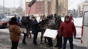 Съемки на натуре, Минск