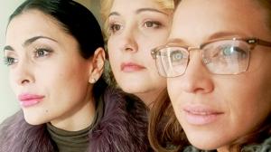 Виктория ПОЛТОРАК (Лариса), Александра СКАЧКОВА (Элла), Сирафима НИЗОВСКАЯ (Надежда)